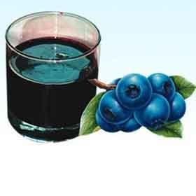Черничный сок